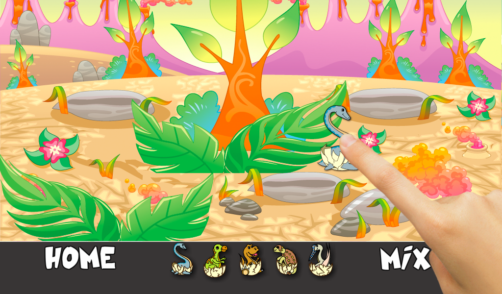 Dino Eggs Hiddens Objects Game - screenshot