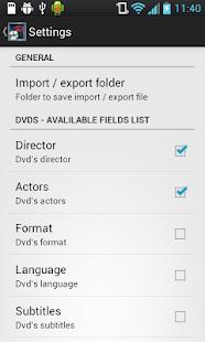 DVDShelf- screenshot thumbnail