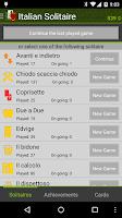 Screenshot of Italian Solitaire Free
