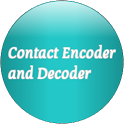 Add Contacts via Barcode icon