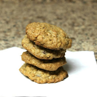 Oatmeal Coconut Cherry Chip Nut Cookies.