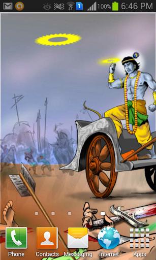 Shri Krishna LiveWallpaper HD