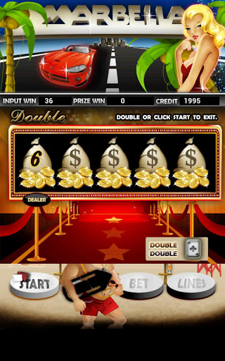 Marbella Slot Machine HD Screen Capture 2