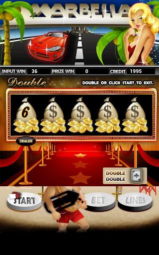 Marbella Slot Machine HD Screen Capture 2