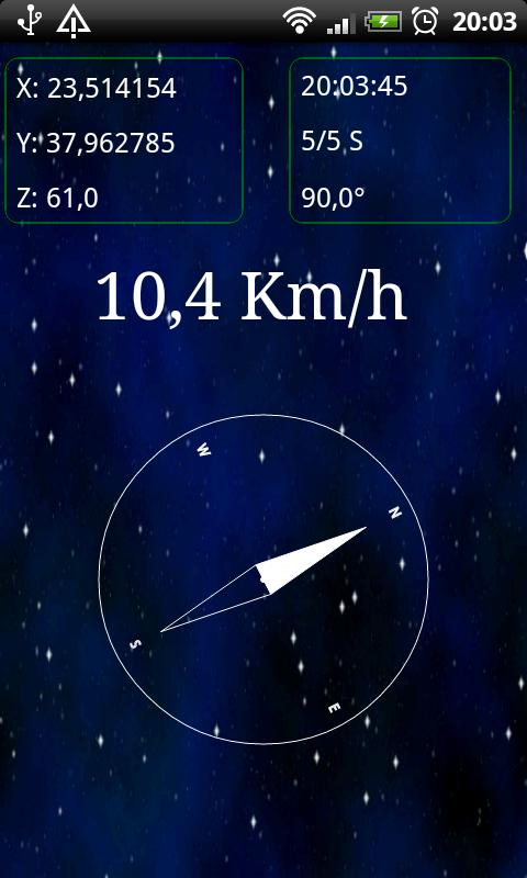 Turbo GPS 2 - screenshot