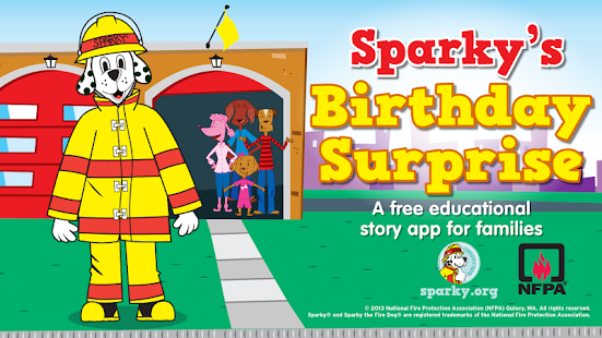 Sparky's Birthday Surprise- screenshot thumbnail