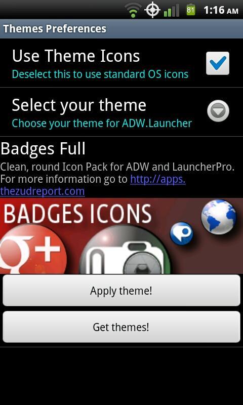 Badges Full Icons - screenshot