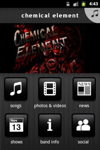chemical element - screenshot