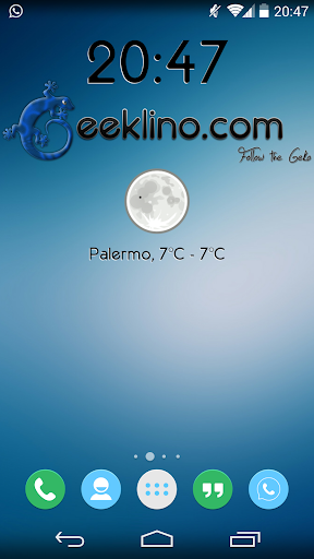 Geeklino Official Widget
