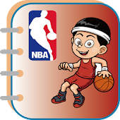 Basketball(NBA) coloring book