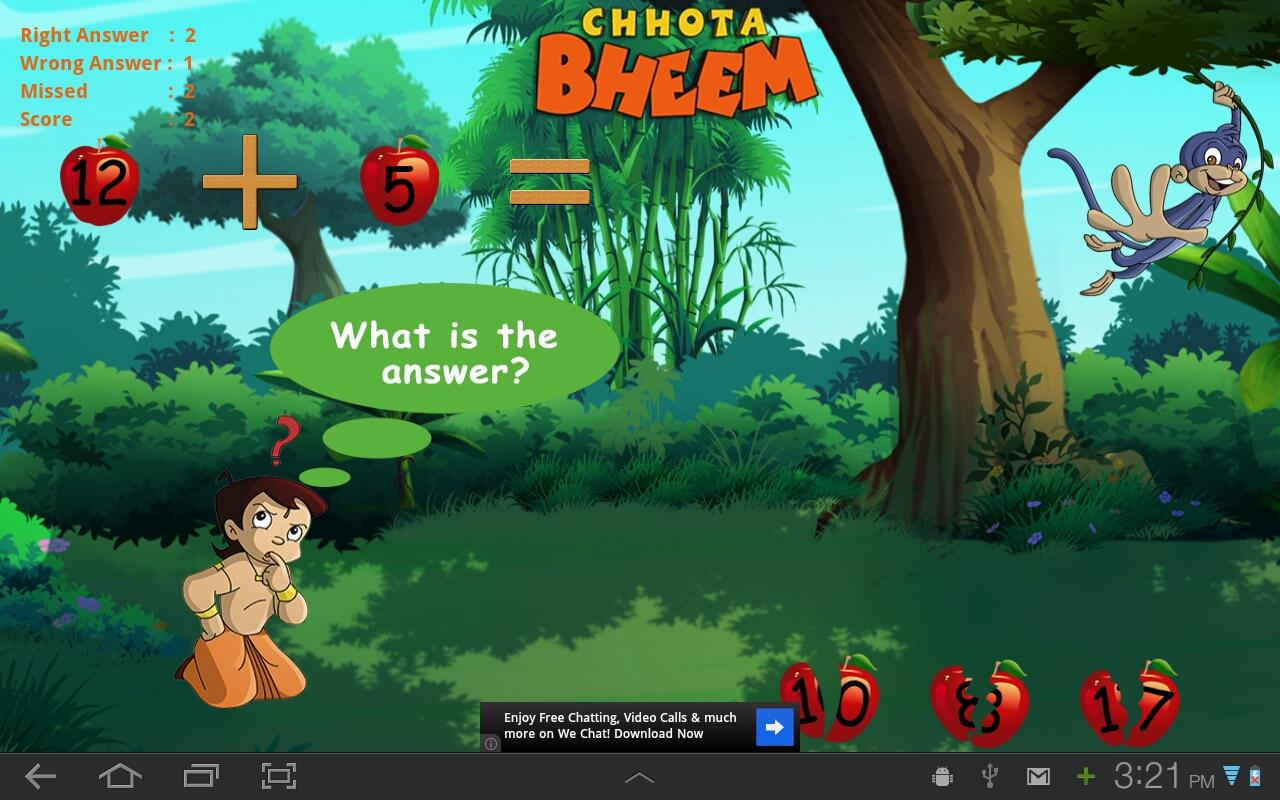 quick math with bheem android apps on google play