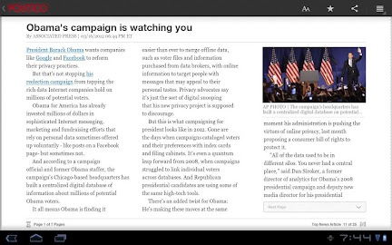 POLITICO For Tablet Screenshot 3