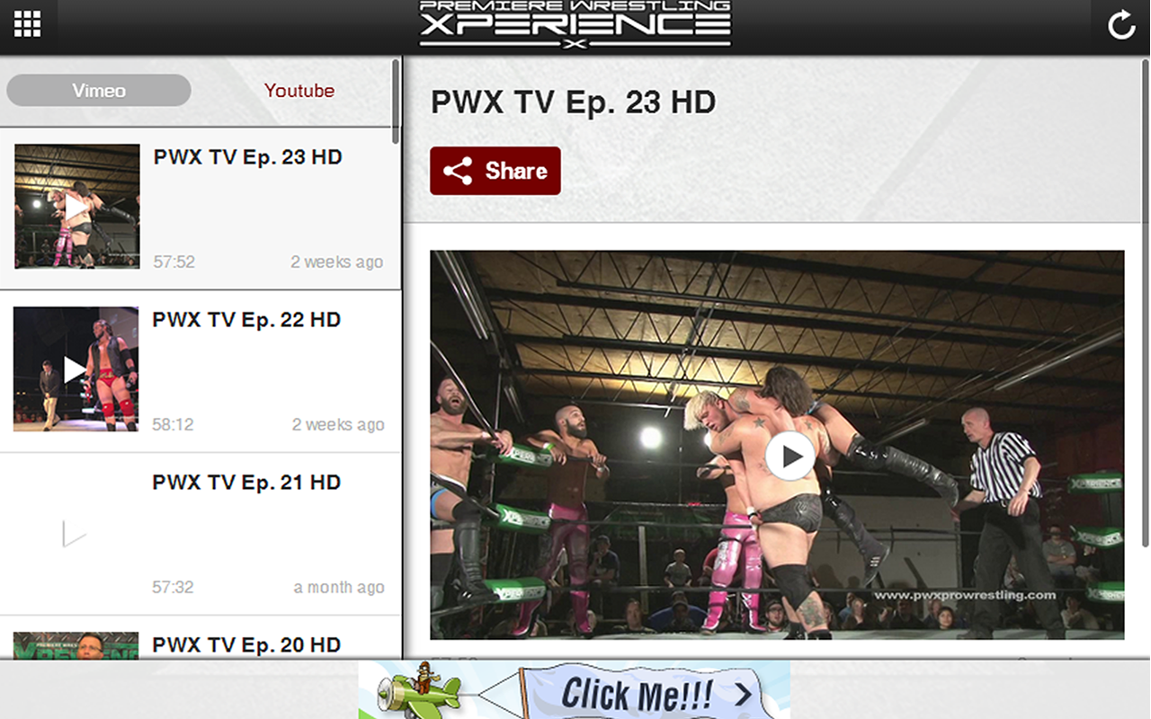 PWX Wrestling- screenshot