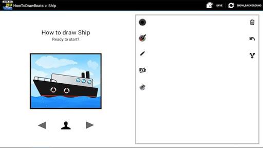 玩娛樂App|HowToDraw Boats免費|APP試玩