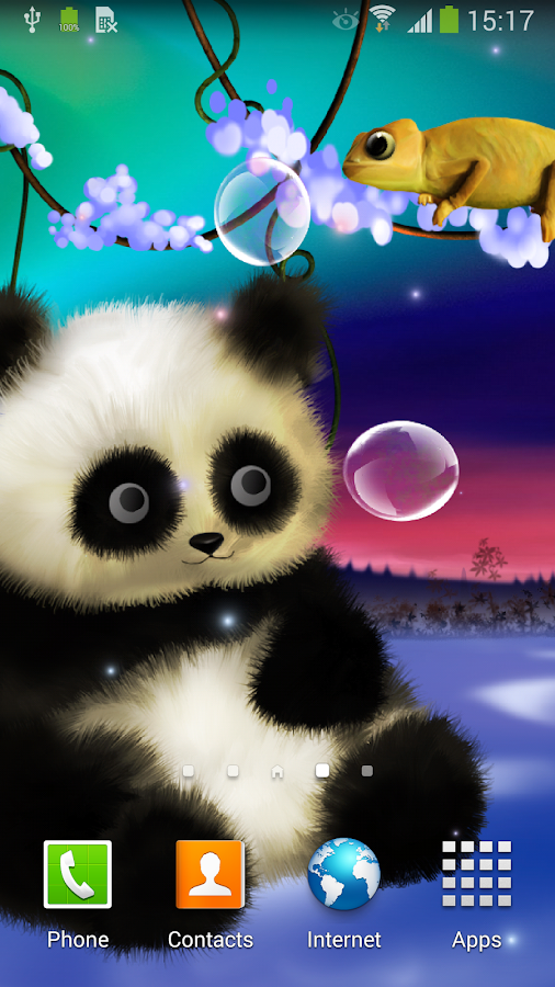 animated panda live wallpaper android apps on google play