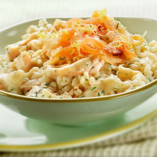 Risotto Met Verse Zalm En Dille