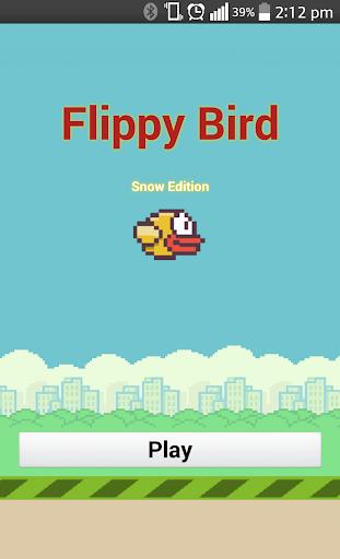 Flippy Bird - Snow Edition