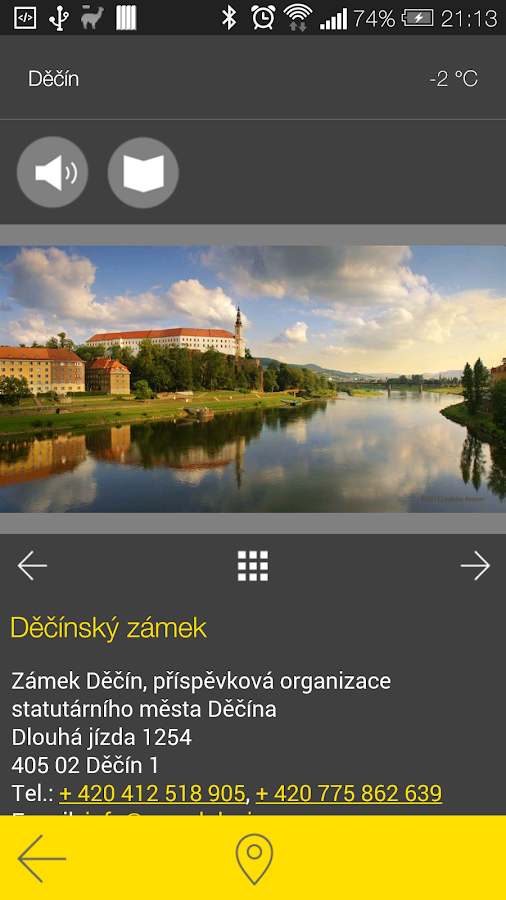 Děčín - audio tour- screenshot