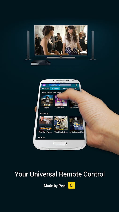 Samsung WatchON™ (On TV) - screenshot