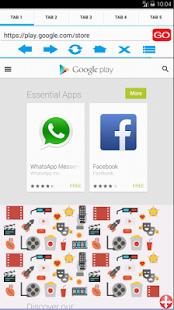AD Browser screenshot