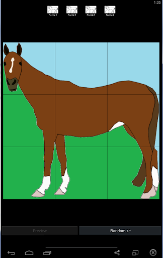 Horse Puzzles For Kids