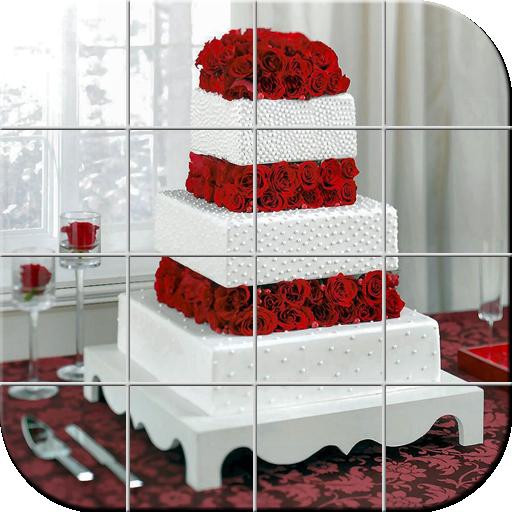 婚礼蛋糕 拼图 解謎 App LOGO-硬是要APP