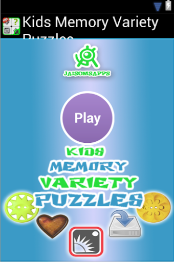 Kids Memory Variety Puzzles