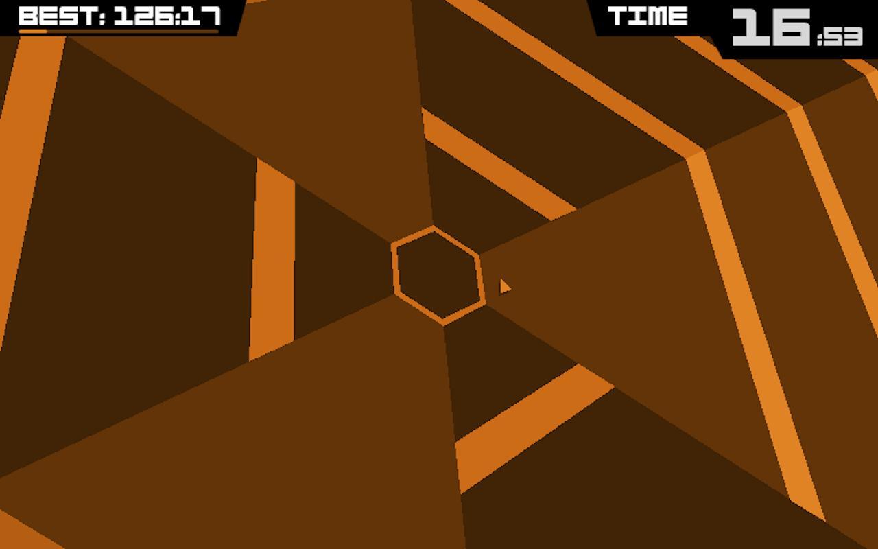 Super Hexagon screenshot #1