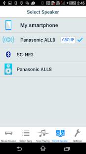 Panasonic Music Streaming - screenshot thumbnail