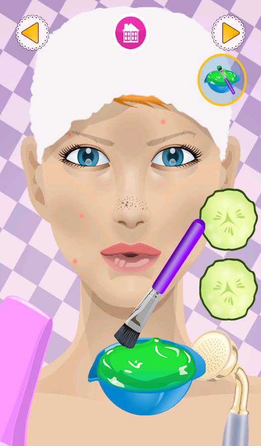 juegos de maquillaje y spa