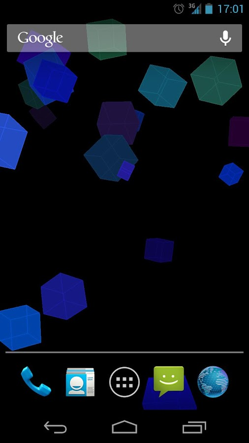 Falling Cubes Live Wallpaper - screenshot