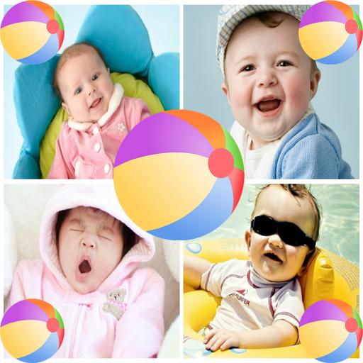 Cute Baby Live Wallpaper 娛樂 App LOGO-APP試玩