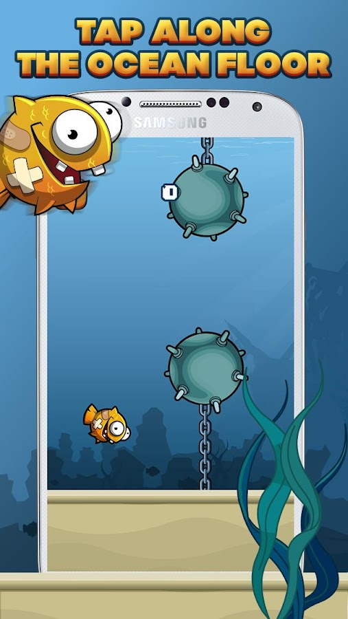 Clumsy Fish- screenshot