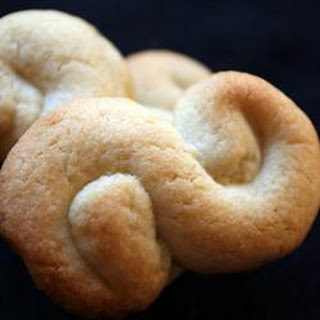 Greek Butter Cookies.