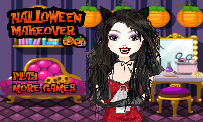 Halloween Make up Games - screenshot