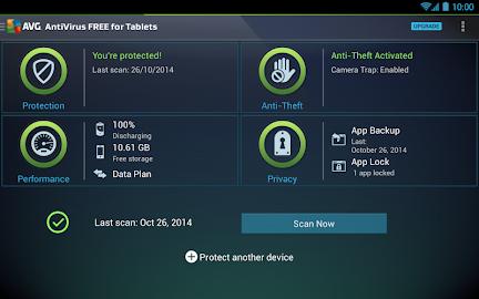 AntiVirus FREE - Security Scan Screenshot 1