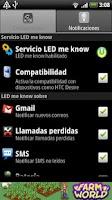Screenshot of LED me know BETA