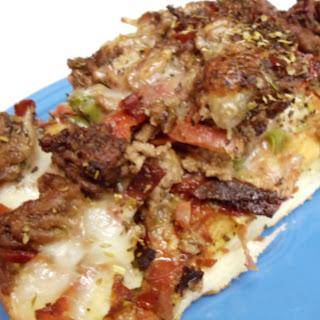 Italian Stallion Pizza (My hubby's favorite)