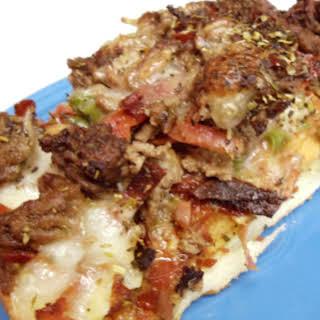 Italian Stallion Pizza (My hubby's favorite).