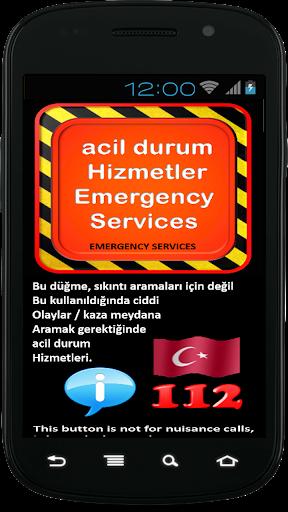 Emergency Services Turkey