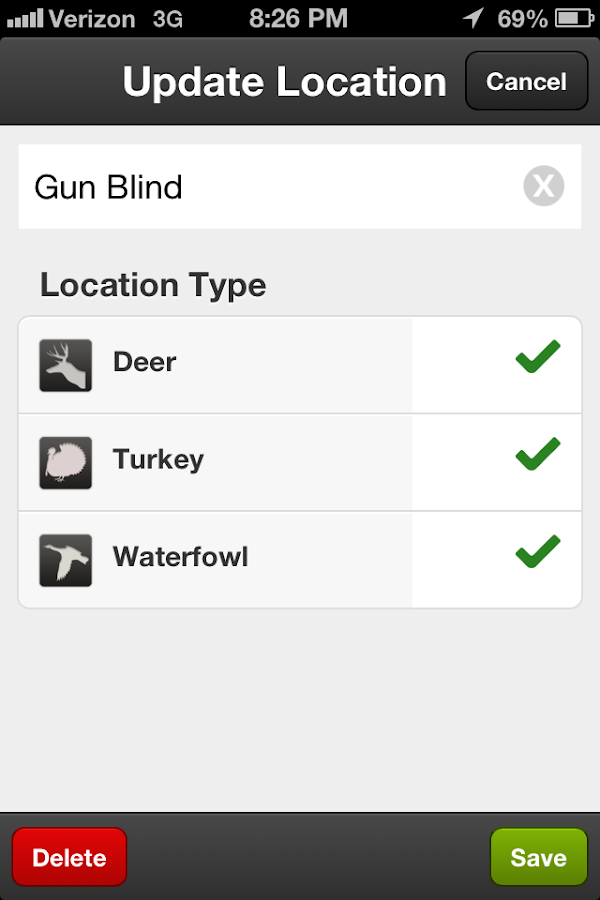 Hunt Predictor Hunting Times- screenshot