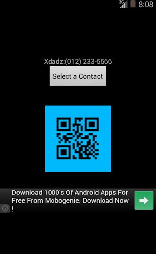 【免費工具App】QR Share Contacts-APP點子