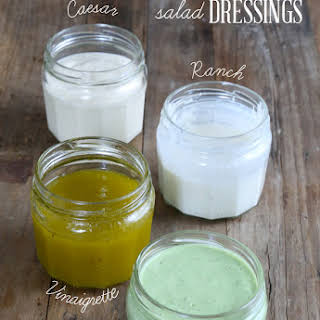Easy Homemade Salad Dressings.