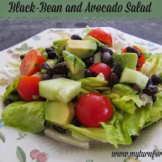 Black-Bean and Avocado Salad.