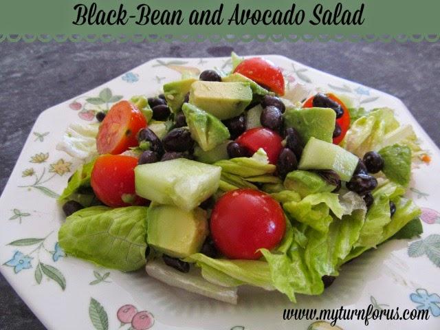 Black-Bean and Avocado Salad Recipe