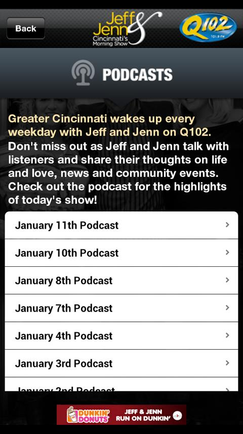 Jeff & Jenn Alarm Clock - screenshot