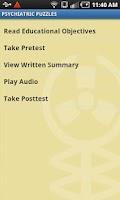Screenshot of Audio Digest