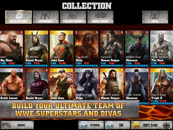 WWE Immortals- screenshot thumbnail