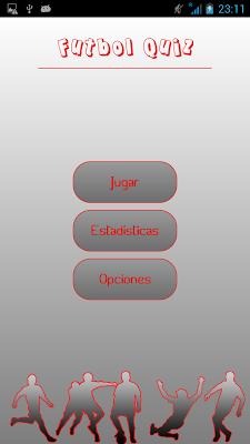 Futbol Quiz Jugadores - screenshot