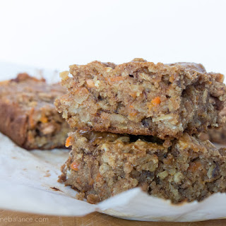 Carrot Cake Breakfast Bars.